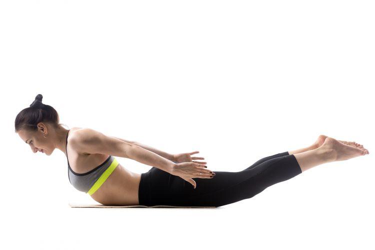Ilustrasi olahraga posisi locus