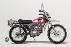 Yamaha DT125 Motor Trail Jadul Andalan
