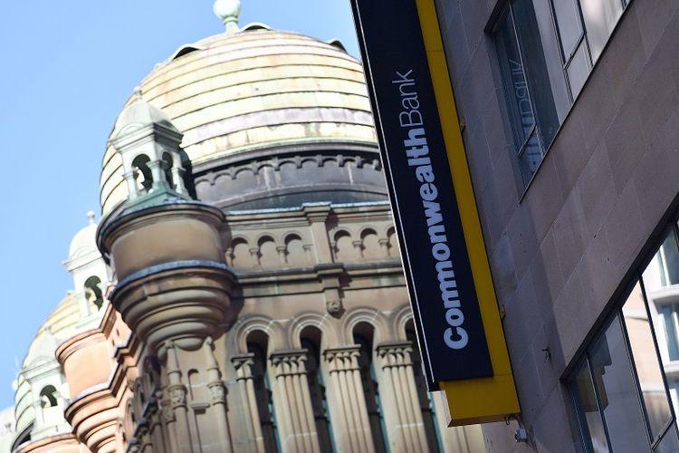 Gedung Bank Commonwealth di Sydney, Australia.