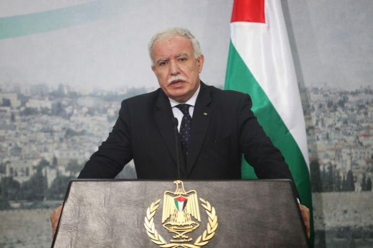 Menteri Luar Negeri Palestina Riyad al-Maliki.