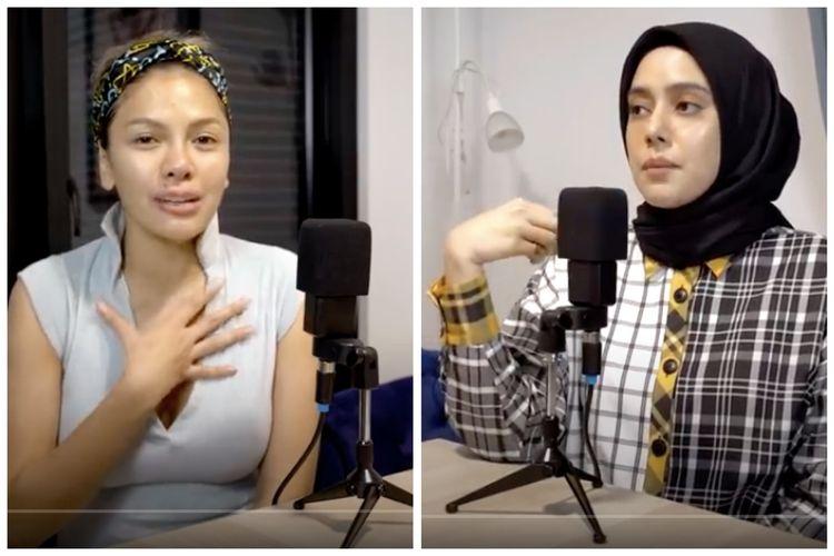 Fairuz A Rafiq saat berbincang dalam podcast Nikita Mirzani