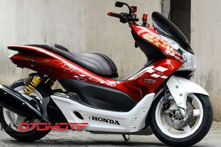 Honda Pcx 150 Jadi Gambot Dan Ceper