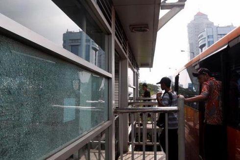 Diduga, Pelaku Penembakan Halte Bus Transjakarta Pakai Fortuner