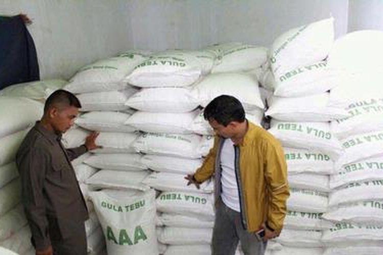 Ilustrasi: Gula ilegal dari Malaysia