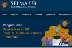 Alur Pendaftaran Seleksi Mandiri 2020 Universitas Brawijaya