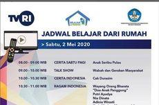 Jadwal Belajar dari Rumah di TVRI, Sabtu 2 Mei 2020 saat Hardiknas