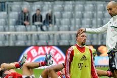 Pep Inginkan Ribery Bermain sebagai Nomor 10