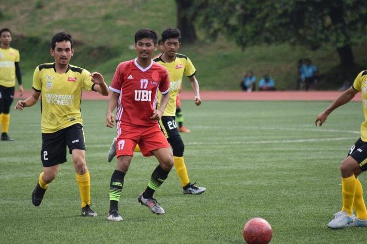 Kesebelasan Universitas Budi Luhur  UBL) berhasil menempati   posisi dua klasemen akhir  kendati ditundukakan  Universitas Indonesia (UI)  dengan skor tipis 0-1,  pada gelaran LIMA Football: Air Mineral Prim-A Greater Jakarta Conference (GJC) and Nusantara Conference (NC) 2017, Kamis (23/11/2017).