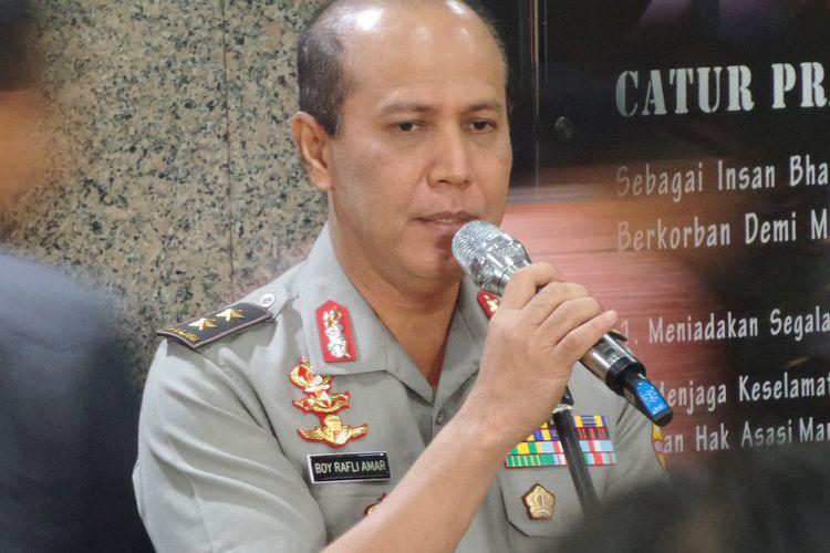 Kepala Divisi Humas Polri Irjen Boy Rafli Amar