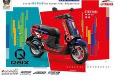 Mengenal Skutik Serba Kotak Yamaha Qbix