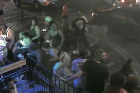 CCTV Rekam Detik-detik Pengunjung Berlarian Dikejar Tersangka Penembakan Massal Ohio