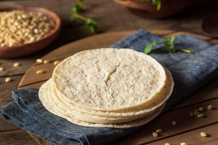 Tortillas dari Meksiko.