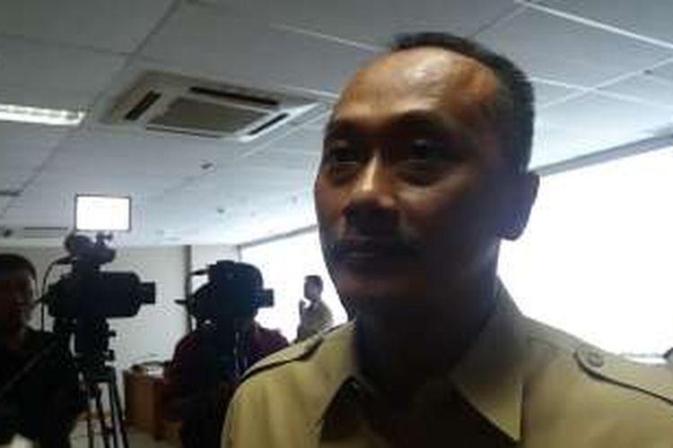 Direktur Jenderal Kependudukan dan Catatan Sipil Kementerian Dalam Negeri Zudan Arif Fakrulloh di Kantor Ditjen Dukcapil di Pasar Minggu, Jakarta Selatan, Senin (28/3/2016)