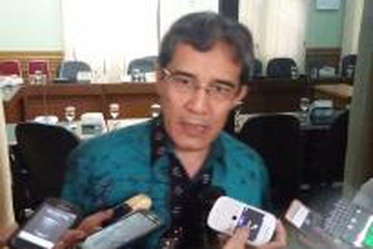 Komisioner KPU Hadar Nafis Gumay saat ditemui di Gedung KPU, Selasa (17/3/2015).