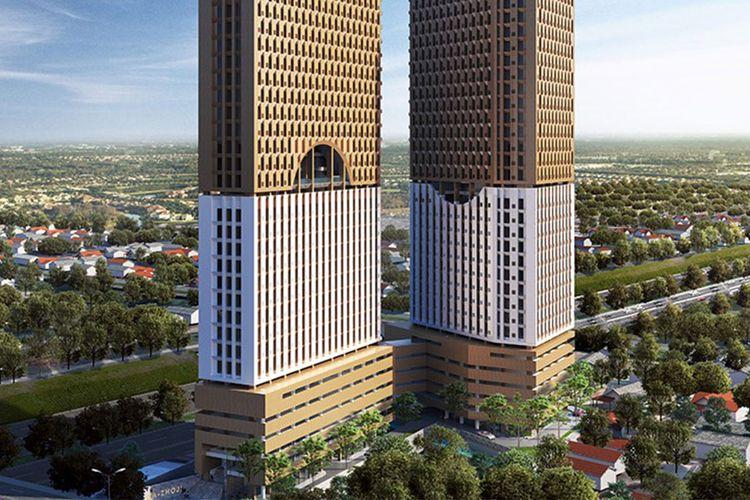Apartemen Mazhoji adalah proyek terbaru PP Properti. Bergaya Jepang (Japanese Living), proyek ini dibangun di lahan seluas 4.653 meter persegi di Margonda Raya.