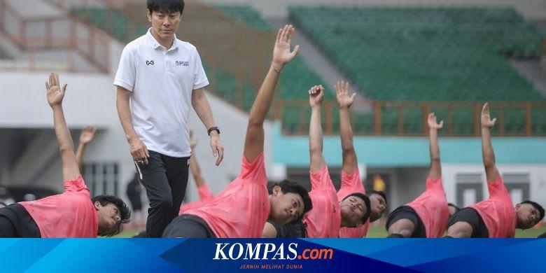 Shin Tae-yong Kaget Melihat Pertandingan Timnas U1