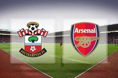 Susunan Pemain Southampton Vs Arsenal