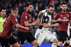 Juventus Vs AC Milan, Rossoneri Dinilai Sukses Saingi Performa Bianconeri