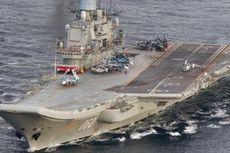 Kapal Induk Rusia Berlayar Menuju Suriah