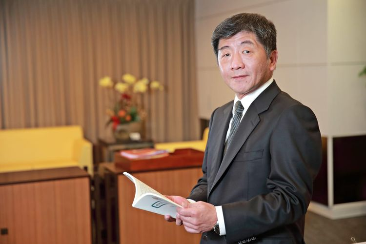 Menteri Kesehatan dan Kesejahteraan Taiwan, Shih-chung Chen.