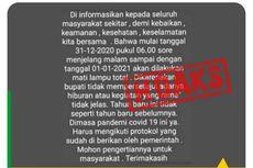 [HOAKS] Pemadaman Listrik pada 31 Desember 2020 Mulai Jam 6 Sore di Jepara