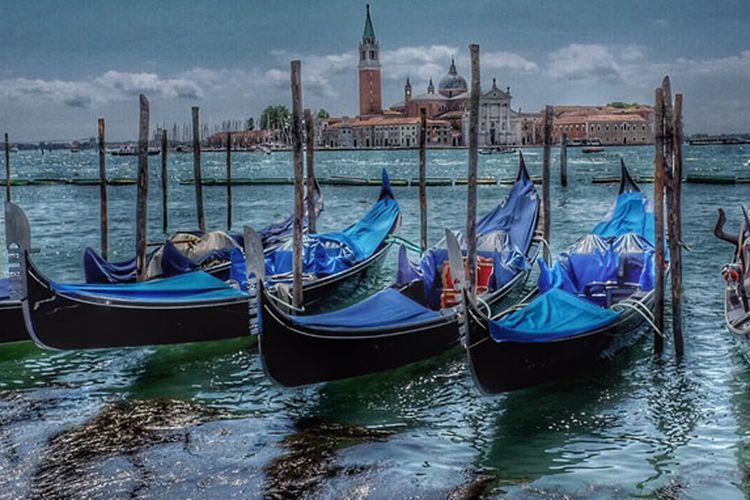 Kota Venesia di Italia.