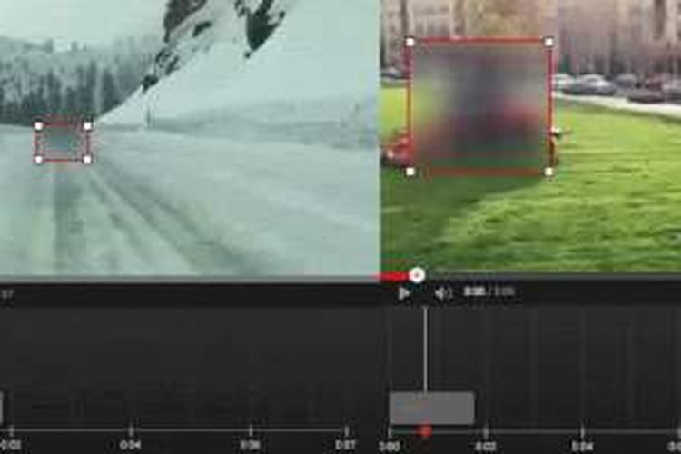 Alat pemburam objek di YouTube