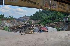 Jalan Poros Kutai Kartanegara Longsor, Satu Orang Dikabarkan Terkubur