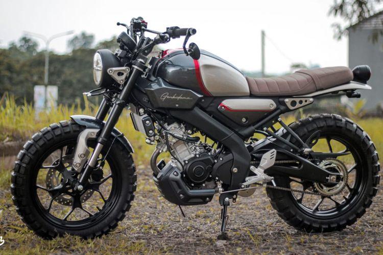 Yamaha XSR155 Street Art Custom