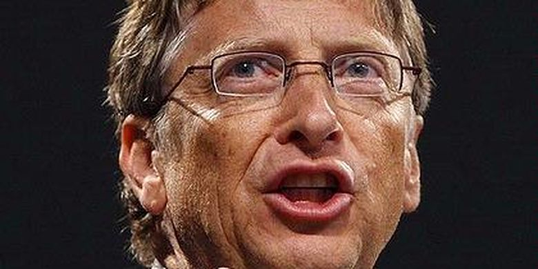 What does bill gates do on his day off