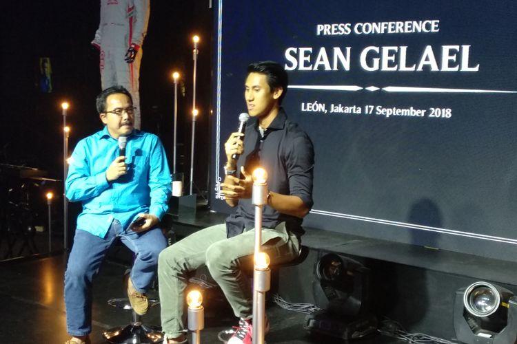 Sean Gelael melakukan lelang amal untuk korban gempa Lombok