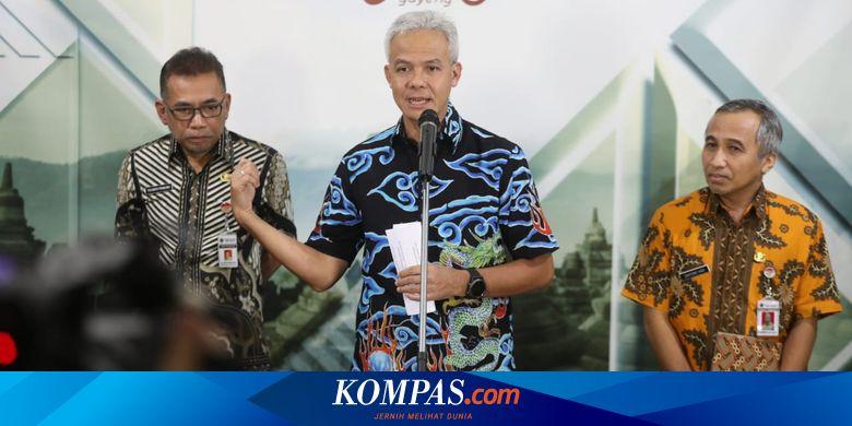 Pasien Virus Corona di Solo Meninggal, Ganjar Pastikan Jateng Lakukan Tracking