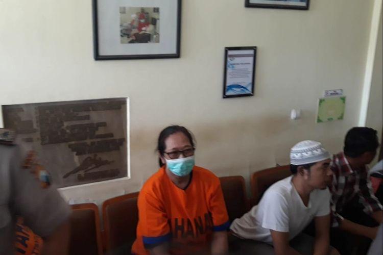 Tri Susanti dilimpahkan polisi ke kejaksaan, Kamis (31/10/2019).