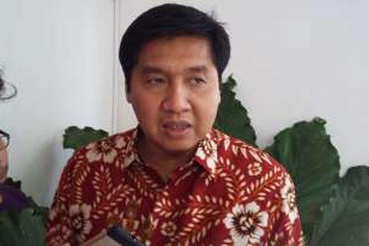 Politisi PDI-P Maruarar Sirait, saat ditemui di Cikini, Jakarta Pusat, Senin (8/2/2016).