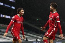 5 Fakta Tottenham Vs Liverpool, Firmino Akhiri Puasa Gol The Reds di 2021