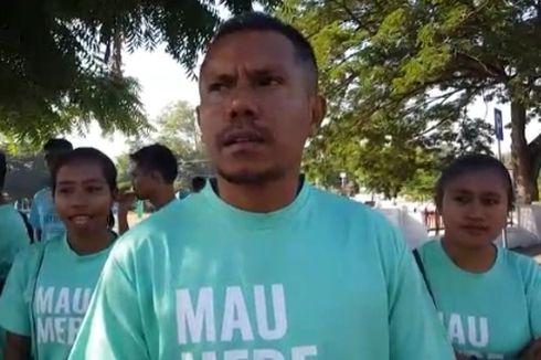 Potret Kerukunan Beragama di Maumere, Orang Muda Katolik Ikut Jaga Shalat Id