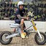 Honda Astrea Legenda Tora Sudiro, Kawin Silang Streetcub dan Scrambler