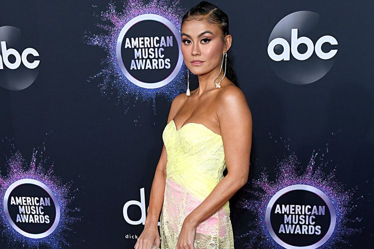 Agnez Mo di American Music Awards.