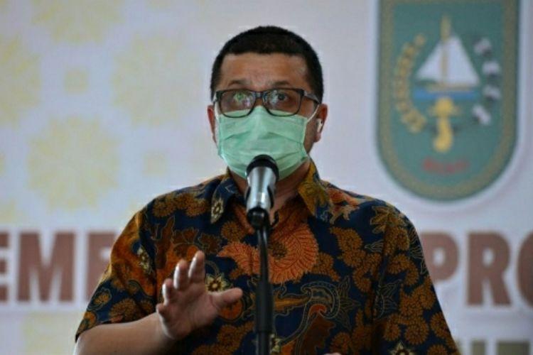 Jubir Satgas Penanganan Covid-19 Riau, dr Indra Yovi.
