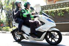 Populasi Ojek Honda PCX Electric Masih Sedikit