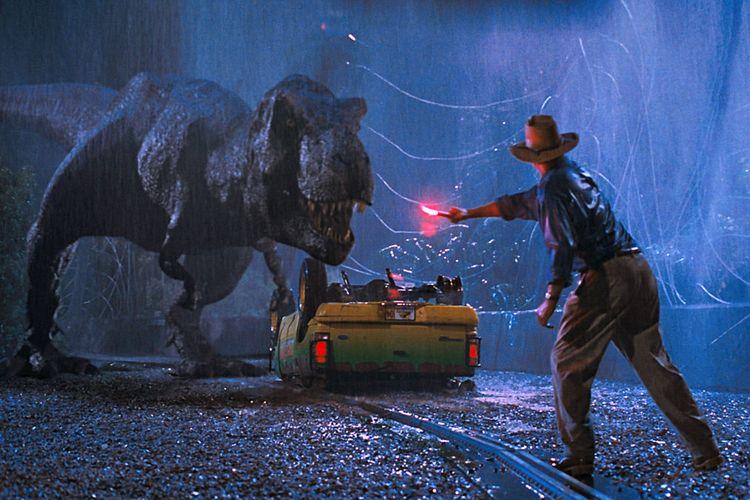 Cuplikan film Jurassic Park