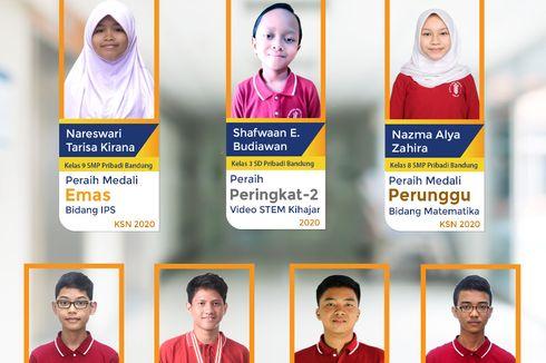 Juara Sains Nasional SD-SMA, Ini Strategi Sekolah Pribadi Bandung Bangun Prestasi di Tengah Pandemi