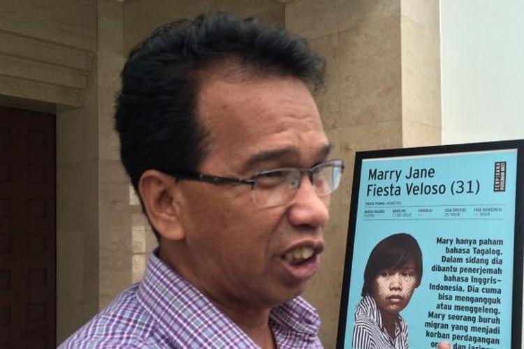 Mantan Ketua Komisi Nasional Hak Asasi Manusia (Komnas HAM), Ifdhal Kasim usai diskusi Hukuman Mati VS Fair Trial di Indonesia di Plaza indonesia, Jakarta, Kamis (8/9/2016).