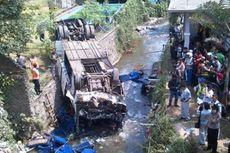 8 Korban Kecelakaan Bus di Puncak Belum Teridentifikasi