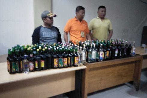 5 PSK dan 111 Minuman Alkohol Terjaring Penertiban Satpol PP Depok