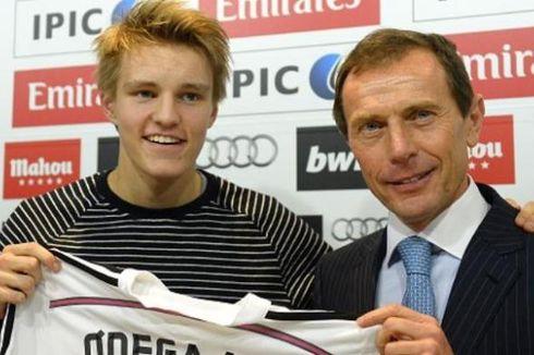 Odegaard Gugup saat Jadi Pemain Termuda yang Pernah Bela Madrid di Liga Spanyol