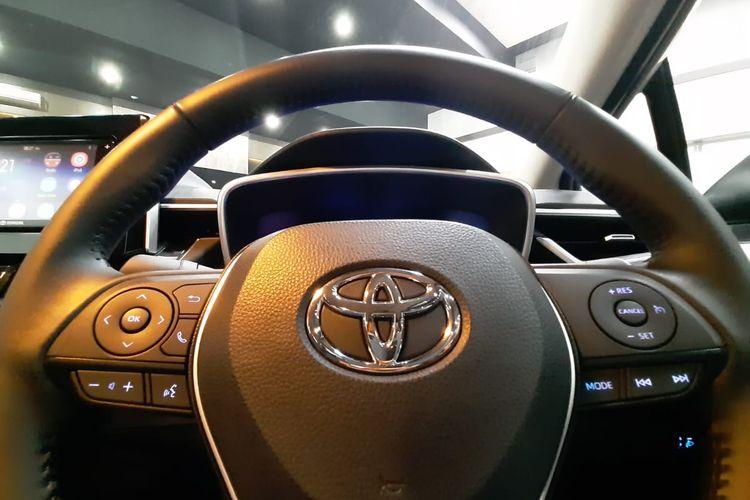 Toyota memperkenalkan Corolla Altis terbaru, Kamis 12/9/2019