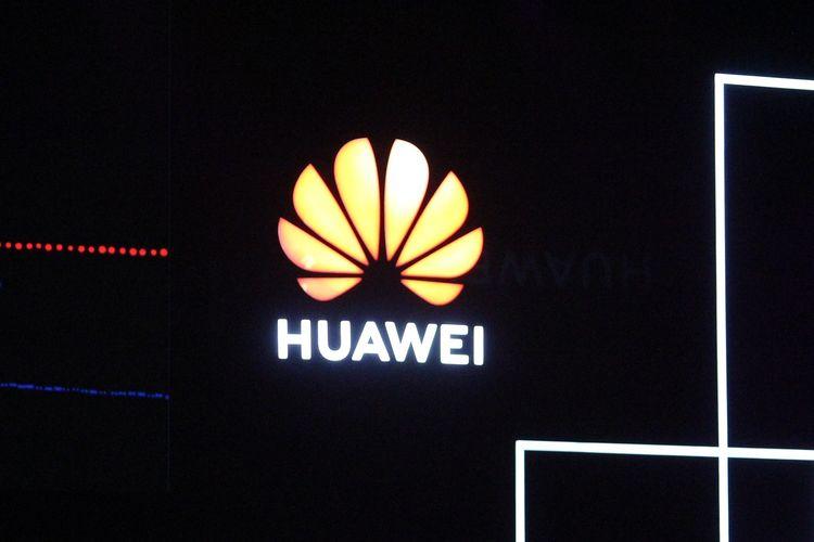 Logo Huawei. Gambar diambil pada 18 September 2019.