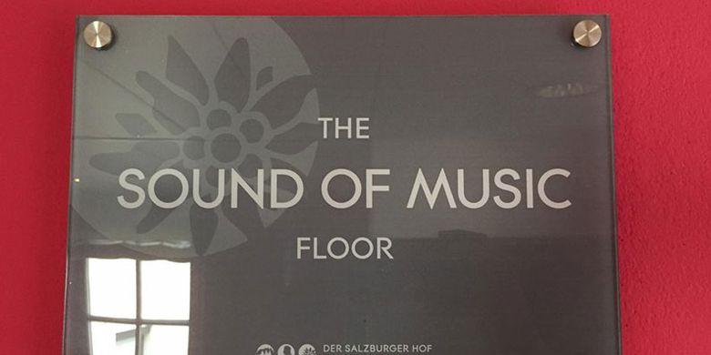 Kamar hotel The Sound of Music Floor di Salzburg, Austria.