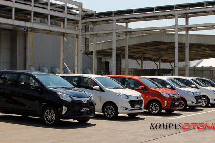 Toyota Calya dan Daihatsu Sigra.